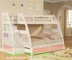 Set Tempat Tidur Tingkat Anak Perempuan Terbaru SF-TT73