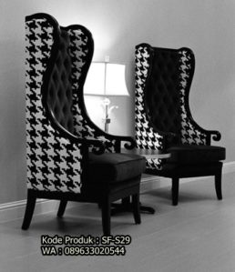 Kursi Santai Sofa Model Houndstooth SF-S29