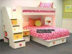 Tempat Tidur Tingkat Untuk Anak Perempuan TTAP-036
